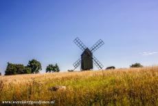 Agricultural Landscape of Southern Öland - Agricultural Landscape of Southern Öland: One of the wooden windmills of Öland, the island is famous for its windmills. In the 19th...