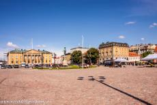 Naval Port of Karlskrona - Naval Port of Karlskrona: The Great Square is one of the largest town squares of Europe, it was created with the express aim of reflecting...