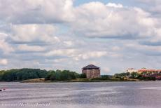 Naval Port of Karlskrona - Naval Port of Karlskrona: One of the powder towers, built on an small island. The buildings of the naval base are very well preserved. Now,...