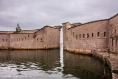 Naval Port of Karlskrona - Naval Port of Karlskrona: The circular harbour within the defensive walls of Kungsholm Fortress. Kungsholm Fortress is still in use as...