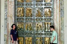 Vatican City - Vatican City: The Holy Door of the St. Peter's Basilica is opened only for great celebrations, such as the Jubilee year, celebrated every...