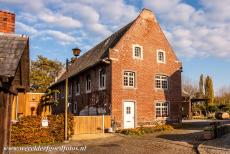 Flemish Béguinage Sint Truiden - A house in the Flemish Béguinage of Sint Truiden. Woman who lived in a béguinage supported themselves with nursing and...
