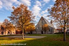 Flemish Béguinage Sint Truiden - Flemish Béguinage of Sint Truiden: The Church of St. Agnes is located in a rectangular courtyard bordered by centuries-old...