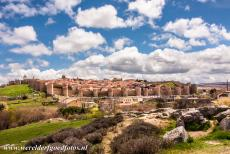 Old Town of Ávila - Old Town of Ávila with its Extra-Muros Churches: The Old Town of Ávila is still surrounded by its medieval town walls. The...