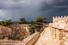 Old Town of Ávila - Old Town of Ávila with its Extra-Muros Churches: A heavy snow shower looming over the town walls of Ávila. One of the best ways to...