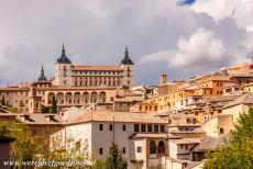 Historic City of Toledo - Historic City of Toledo: The Alcázar is a huge fortress situated on the highest point of the city. It became a Roman palace in the 3th...