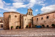 Old Town of Cáceres - Old Town of Cáceres: The Convento de San Pablo, the St. Pau'ls Convent, is situated in the Plaza the San Mateo. The convent was built...
