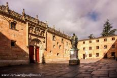 Old City of Salamanca - Old City of Salamanca: The Patio de las Escuelas is the square in front of the University of Salamanca. In the centre of the...