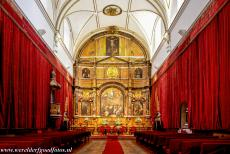 Old City of Salamanca - Old City of Salamanca: The chapel of the old University of Salamanca was built in the period 1761-1767. The altarpiece is adorned...
