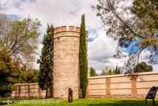 University of Alcalá de Henares - University and Historic Precinct of Alcalá de Henares: The walls and one of the watchtowers. The wall, called the...