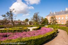 Aranjuez Cultural Landscape - Aranjuez Cultural Landscape: The Parterre Garden in the Royal Gardens, in the background the Palace of Aranjuez. The French...