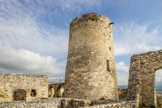 Levoča, Spišský Hrad and Associated Monuments - The town of Levoča, Spišský Hrad and the Associated Cultural Monuments: The Bergfried is one of the remaining towers of...