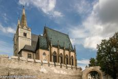 Levoča, Spišský Hrad and Associated Monuments - Levoča, Spišský Hrad and the Associated Cultural Monuments: The St. Martin's Cathedral inside the town walls of...