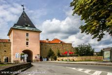 Levoča, Spišský Hrad and Associated Monuments - Levoča, Spišský Hrad and the Associated Cultural Monuments: The town walls of Levoča and the Košice Gate, one of...