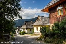 Vlkolínec - Vlkolínec is a tiny mountain village at the heart of the countryside, situated about five km south of Ružomberok, a town in...