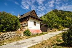 Vlkolínec - The wooden houses of Vlkolínec have been preserved in their original state to the present day. Most of the houses have three rooms,...