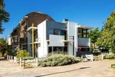 Rietveld Schröder House - The Rietveld Schröder House shares an exterior wall with the neighbouring house. The two-storey house was built on the outskirts Utrecht, a...