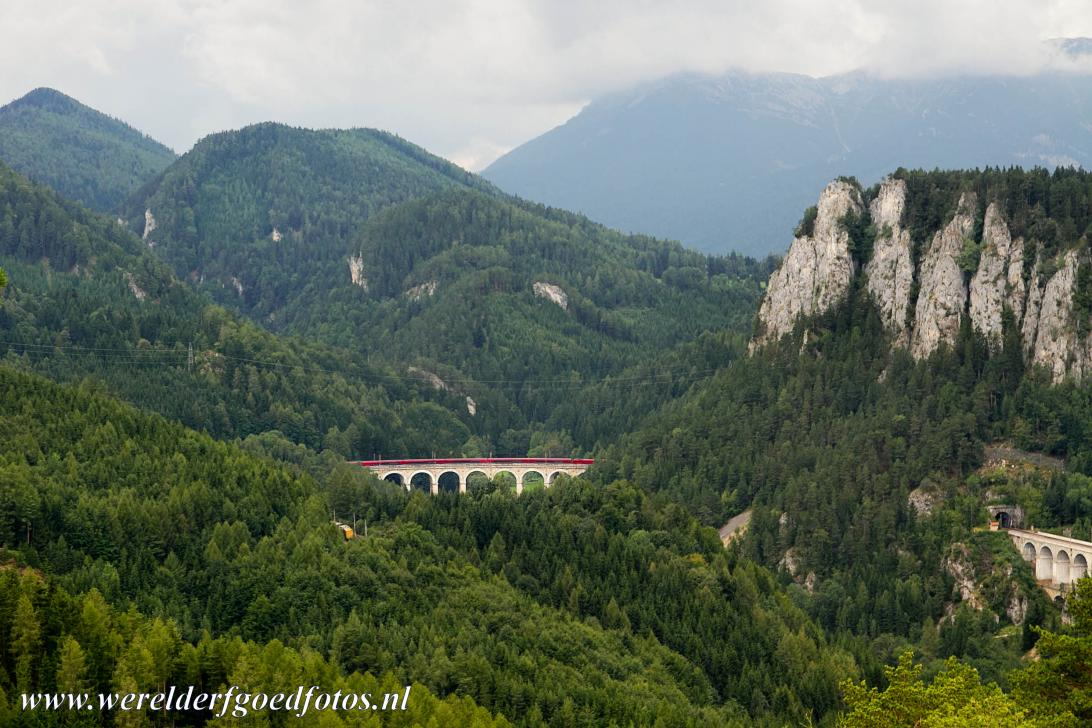 Semmering Railway - The Kalte Rinne viaduct, also known as the 20-Schilling Blick, is the most impressive part of the Semmering Railway. The Semmering Railway is...