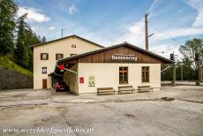 Semmering Railway - Semmering Railway: The railway station of Semmering, the small village lies halfway between Vienna and Graz along the Semmering Railway. The...