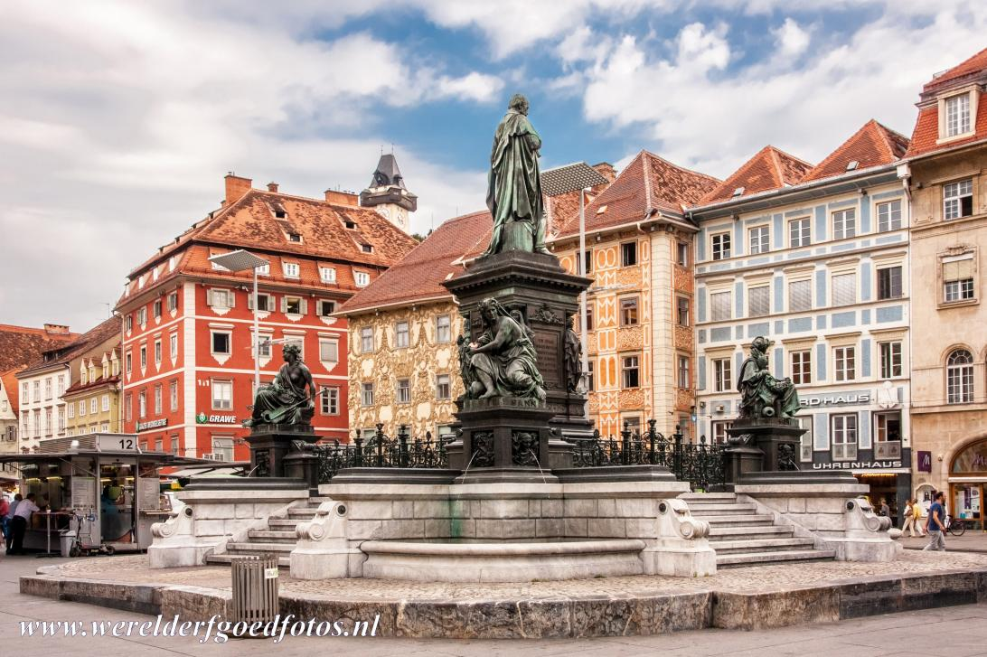City of Graz - Historic Centre - City of Graz - Historic Centre: The Hauptplatz is the market square of Graz, it was created in the Middle Ages. The monumental Erzherzog Johann...