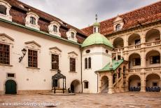 City of Graz - Historic Centre - City of Graz - Historic Centre: The Landhaus in the city of Graz has a fine Renaissance arcaded courtyard. The construction of the...