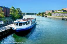 Fortress of Suomenlinna - Fortress of Suomenlinna: The harbour of Suomenlinna. The Fortress of Suomenlinna is located on a group of islands off the coast nearby...
