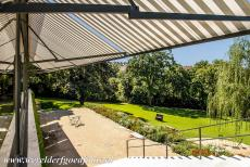 Tugendhat Villa in Brno - Tugendhat Villa in Brno: On the lower ground floor is a glass façade facing the garden. The villa was confiscated by the nazis in 1939....