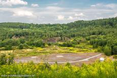 Messel Pit Fossil Site - The Messel Pit date back to the Middle Eocene, in that period the Messel Pit was a deep vulcanic crater lake in a wet tropical...