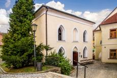 Jewish Quarter and St Procopius Basilica, Třebíč - Jewish Quarter and St. Procopius' Basilica in Třebíč: The Front Synagogue is also known as the Old Synagogue, it was built in the...