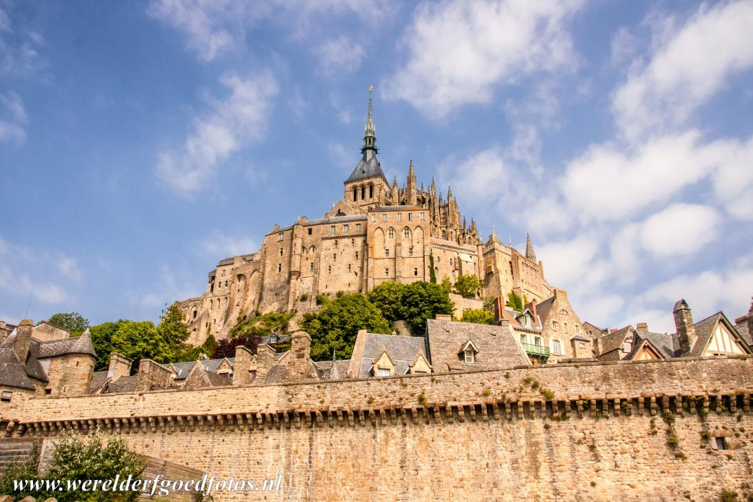 Mont Saint-Michel - Mont Saint-Michel and its Bay: According to the legend, in 708 the Archangel Michael instructed the Bishop of Avranches to build a sanctuary...