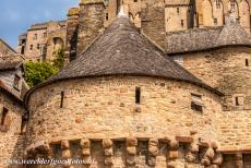 Mont Saint-Michel - Mont Saint-Michel and its Bay: One of the strong defensive towers of Mont Saint-Michel. The bishop of Avranches built a small chapel on...