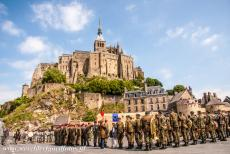 Mont Saint-Michel - Mont Saint-Michel and its Bay: The commemoration of the 65th anniversary of D-Day landings. During World War II, the island of Mont...