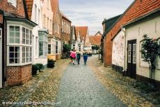 Danish part of the Wadden Sea - Wadden Sea: The historic centre of Tønder is dominated by 17th and 18th century houses. Tønder is the oldest market town in...