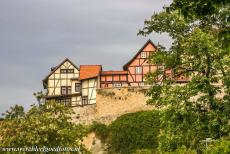 Old Town of Quedlinburg - The Collegiate Church, Castle and Old Town of Quedlinburg: A Benedictine monastery and the Marienkirche, the St. Mary's Church, were...