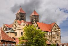 Old Town of Quedlinburg - Collegiate Church, Castle and Old Town of Quedlinburg: The Romanesque Collegiate Church of St. Servatius and the Castle of Quedlinburg are...