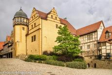 Old Town of Quedlinburg - The Collegiate Church, Castle and Old Town of Quedlinburg: The Castle of Quedlinburg on the Burgberg. The Castle of Quedlinburg was founded by...