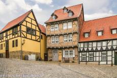 Old Town of Quedlinburg - Collegiate Church, Castle and Old Town of Quedlinburg: At the foot of the Burgberg stands the birth house of the poet Friedrich Gottlieb...