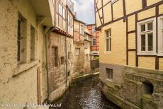 Old Town of Quedlinburg - Collegiate Church, Castle and Old Town of Quedlinburg: The river Bode flows through the Old Town of Quedlinburg. Quedlinburg is situated...
