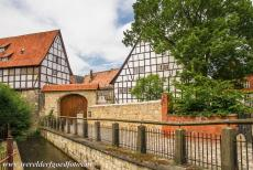Old Town of Quedlinburg - Collegiate Church, Castle and Old Town of Quedlinburg: The river Bode. Quedlinburg is situated north of the Harz Mountains. The town was...