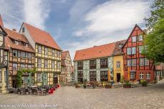 Old Town of Quedlinburg - The Collegiate Church, Castle and Old Town of Quedlinburg: Quedlinburg is one of the most beautiful towns of Germany, the narrow,...