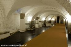 Abbey of Saint Gall - Abbey of Saint Gall: The vaulted cellar of the abbey. The Lapidarium in the cellars of the Abbey of Saint Gall houses a collection of medieval...