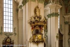 Abbey of Saint Gall - Abbey of Saint Gall: The pulpit is richly decorated. The abbey library contains 130,000 books, including precious and unique manuscripts. The...