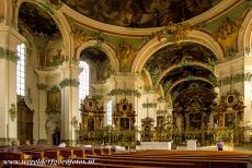 Abbey of Saint Gall - Abbey of Saint Gall: The Cathedral of Saint Gall is decorated in the late Baroque style. The frescoes are almost entirely the work of one...