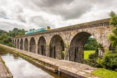 Pontcysyllte Aqueduct - The Chirk Aqueduct and the Chirk Railway Viaduct. The Chirk Aqueduct was designed by Thomas Telford and completed in 1801. Chirk...