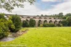 Pontcysyllte Aqueduct - The Chirk Aqueduct was designed by Thomas Telford and completed in 1801. The Chirk Aqueduct carries the Llangollen Canal across the...