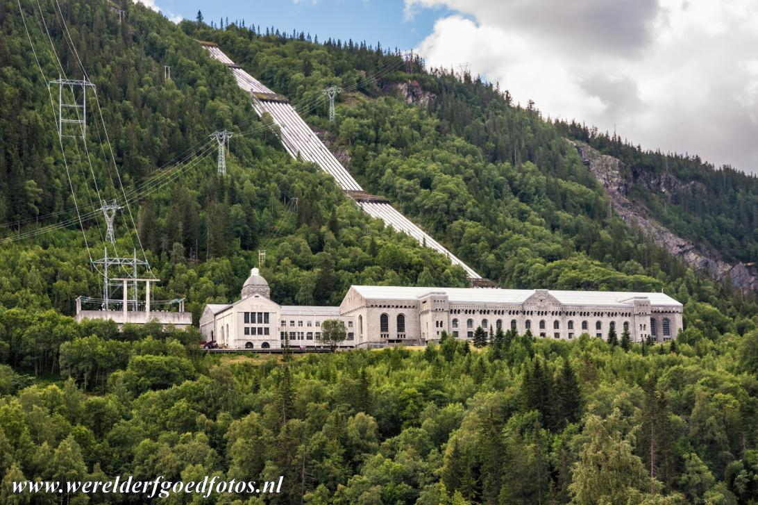 Rjukan-Notodden Industrial Heritage - Rjukan-Notodden Industrial Heritage Site: The Vemork hydroelectric plant is situated outside Rjukan, the plant was built in...