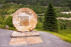 Rjukan-Notodden Industrial Heritage - Rjukan-Notodden Industrial Heritage Site: A memorial outside Rjukan to commemmorate the 'Heroes of Telemark'. The Vemork hydroelectric...