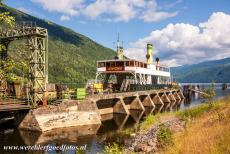 Rjukan-Notodden Industrial Heritage - Rjukan-Notodden Industrial Heritage Site: The SF Ammonia at Mæl. SF Ammonia is a steam powered railway ferry on Lake Tinnsjø, the...