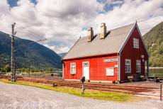Rjukan-Notodden Industrial Heritage - Rjukan-Notodden Industrial Heritage Site: The Mæl Railway Station of the Rjukanbanen  in Tinn. The Mæl Station is the...