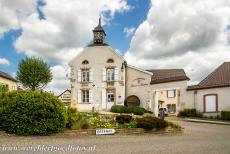 Champagne Hillsides - Champagne Hillsides, Houses and Cellars: One of the Champagne Houses in Hautvillers, one of the small villages in the Champagne...